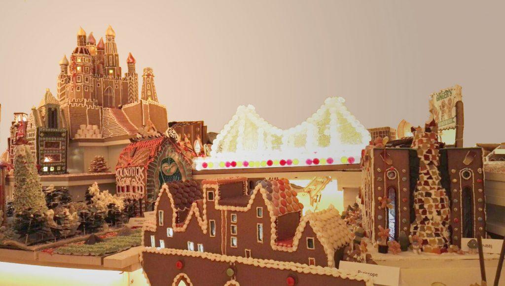 Emrys gingerbread city